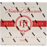 2019-20 Panini National Treasures Basketball Box