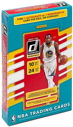 2017-18 Donruss Basketball Hobby Box