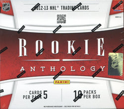 2012-13 Panini Rookie Anthology Hockey Box