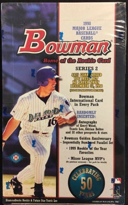 1998 Bowman Baseball Series 2 Box