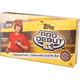 2019 Topps Pro Debut Baseball Box