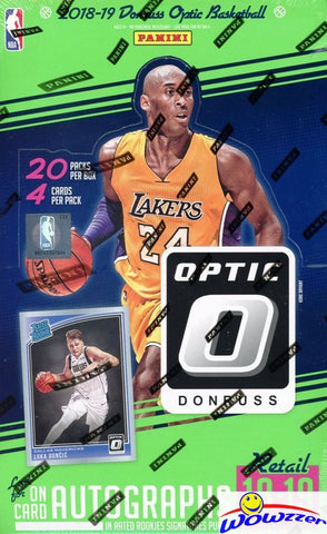 2018-19 Panini Optic Basketball Retail Box