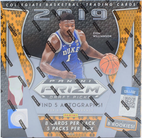 2019-20 Panini Prizm Draft Picks Basketball Box