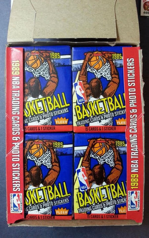 1989-90 Fleer Basketball Pack