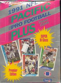 1991 Pacific Football Box