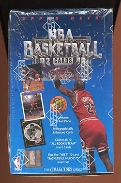 1992-93 Upper Deck Basketball Series 1 Box