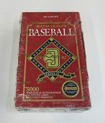 1992 Donruss Series 1 Baseball Box