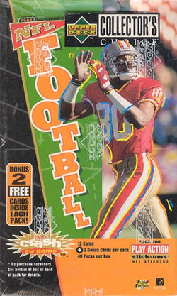 1996 Collectors Choice Football Box