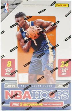 2019-20 Panini Hoops Basketball Hobby Box