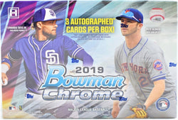 2019 Bowman Chrome Baseball HTA Box