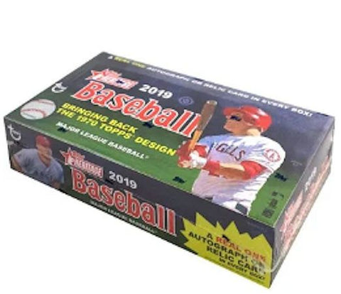 2019 Topps Heritage Baseball 12-box Case