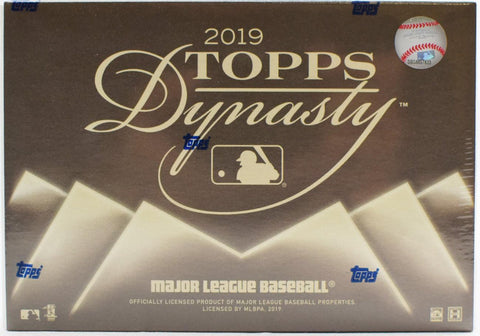 2019 Topps Dynasty Baseball Box