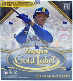 2019 Topps Gold Label Baseball Box