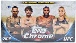 2019 Topps Chrome UFC Hobby Box