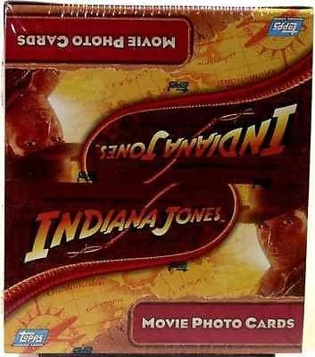 2008 Indiana Jones Movie Photo Cards