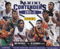 2012-13 Panini Contenders Basketball Box