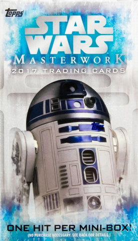 2017 Topps Star Wars Masterworks Mini Box