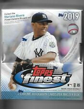 2019 Topps Finest Baseball 8-Box Case