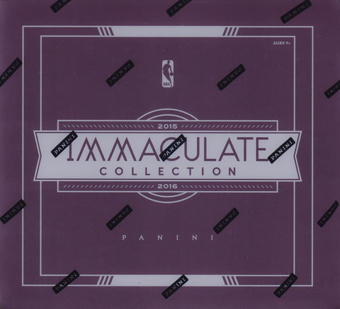 2015-16 Panini Immaculate Basketball Case