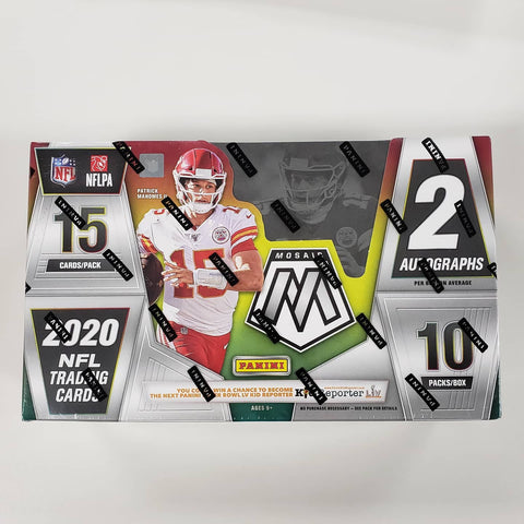 2020 Panini Mosaic Football Box