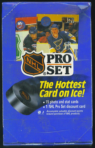 1990-91 Pro Set Hockey Box