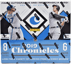 2019 Panini Chronicles Baseball Hobby 16-Box Case