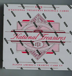2019 Panini National Treasures Baseball 4-Box Case