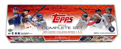 2012 Topps Baseball Factory Set