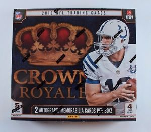 2013 Panini Crown Royale Football Box