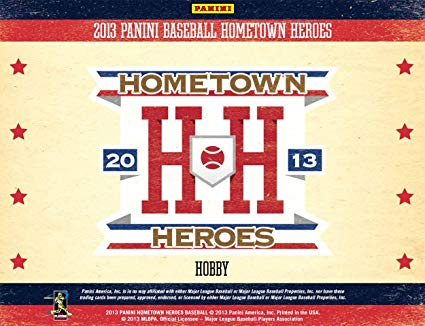 2013 Panini Hometown Hero Baseball Box