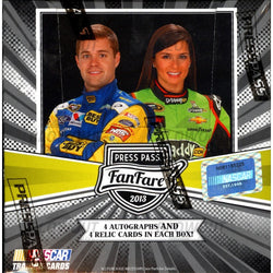 2013 Press Pass Fanfare NASCAR Racing Box