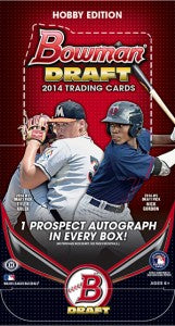 2014 Bowman Draft Hobby Baseball Box