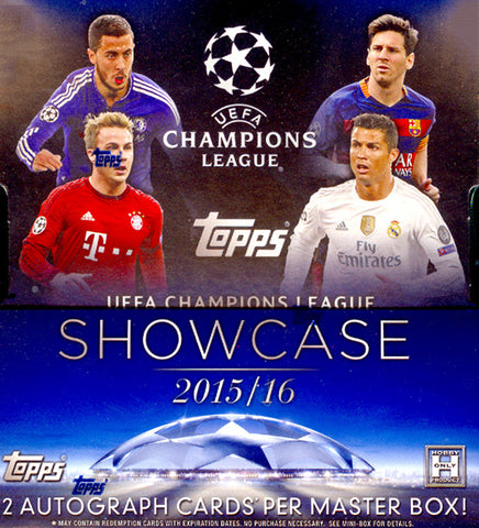 2015-16 Topps UEFA Champions League Soccer Box