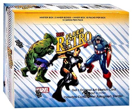 2015 Marvel Fleer Retro Hobby Box