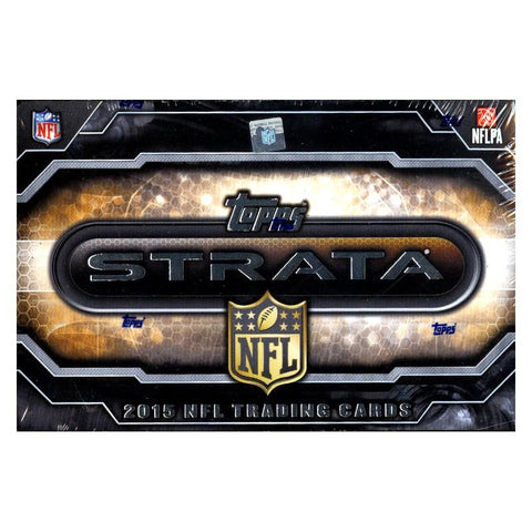 2015 Topps Strata Football Box