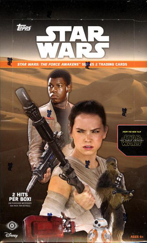 2016 Topps Star Wars: The Force Awakens Series 2 Box
