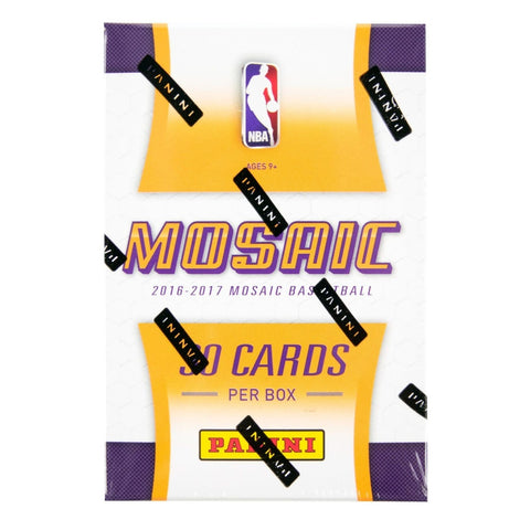 2016-17 Panini Prizm Mosaic Basketball Box