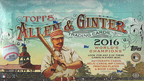 2016 Topps Allen and Ginter Hobby Box