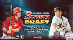 2016 Bowman Draft Picks & Prospects Jumbo Baseball Box