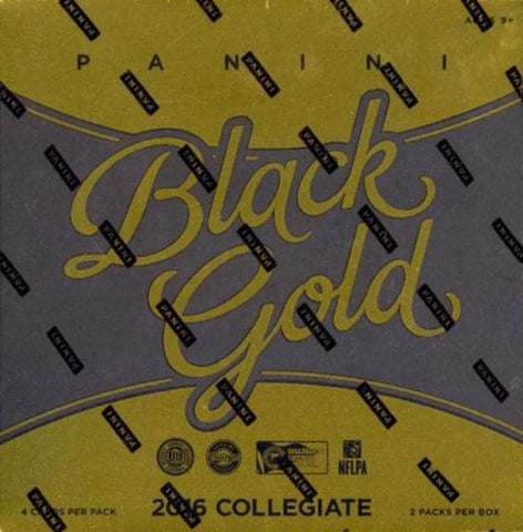 2016 Panini Black Gold Football Collegiate Box