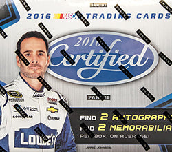 2016 Panini Certified Nascar Racing Box