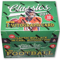 2016 Panini Classics Football Football Box