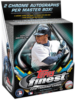2016 Topps Finest Baseball Box