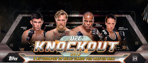 2016 Topps UFC Knockout Box
