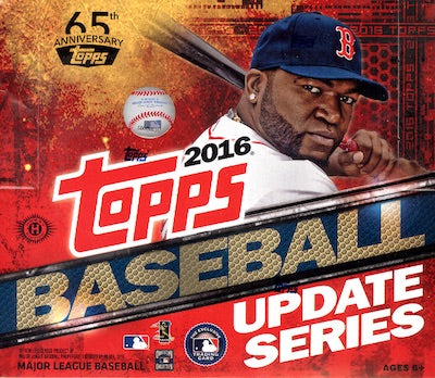 2016 Topps Update Jumbo Baseball Box