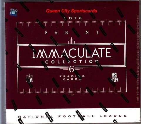 2016 Panini Immaculate Football Box
