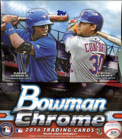 2016 Bowman Chrome Baseball Mini-Box