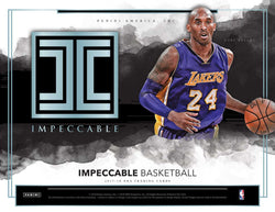 2017-18 Panini Impeccable Basketball Box
