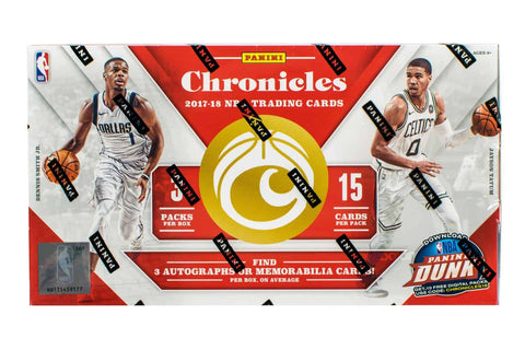 2017-18 Panini Chronicles Basketball Box