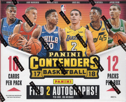 2017-18 Panini Contenders Basketball Box